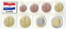 Euro Olanda 2014 Re Willem-Alexander - Serie completa 8 monete in euroblister