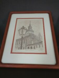 Independence Hall Signed & Numbered Laszlo Bagi Print