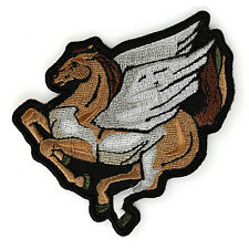 Embroidered Pegasus Wings Horse Sew or Iron on Patch Biker Patch