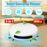 UV Disinfection Smart Sweeping Robot Vacuum Cleaner Floor Auto Suction Sweeper!
