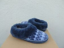 UGG NAVY WRIN ICELANDIC SHEEPSKIN SLIPPERS,  WOMEN US 10/ EUR 41 ~NIB