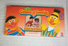 Sesame Street Games for Growing | Counting | Ages 3 and up | Vintage 1993