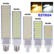 E27 G24 Theater Cinema Lights LED Corn Lamp Horizontal Plug Bulb 110/220V 4239