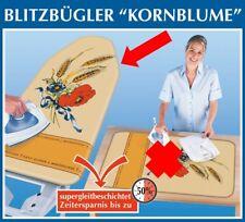 Wenko Bügelbrettbezug Alu Blitzbügler Bügelbrett Bezug KORNBLUME + Gleitfunktion