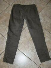 Women~MS MODE~MULTI BLEND~BROWN~Slim Fit~Stretch~Design Pants size 42~ 32W/29L