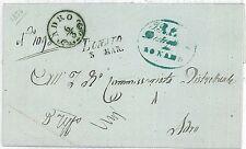 ITALIA REGNO: BUSTA con ANNULLO : LONATO 1854