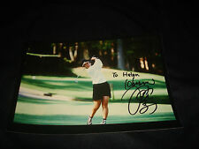 Hiromi Kobayashi Japan LPGA 1990 ROY Signed 5X7 Photo Authentic Autograph JB9