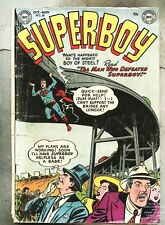 Superboy #28-1953 gd+ Win Mortimer The Luckiest Boy in the World