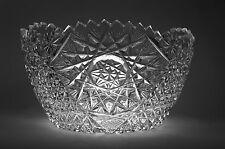 Cut Crystal Bowl Turkish Cut Glass Bowl