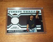 2011 Topps Finest UFC Joseph Benavidez  Worn Fighter Gear  Relic Swatch Card