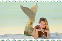 THE2TAILS™ Adult Liquid Sun Swimmable Mermaid Tail Affordable with Fin