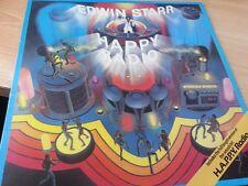 "EDWIN STARR - H.A.P.P.Y RADIO ( 12"" VINYL LP)"
