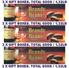3 x Chocolates filled Brandy Beans (pack of 3) Total 600g / 1.32pilb