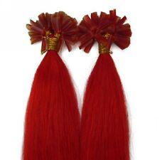 7A 50S 100% Remy Human Hair Extensions U/Nail Fusion Keratin Tip 16-22Inch 1.0g