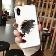 Personalised Marble Phone Case Cover For Apple Samsung Huawei 114-1