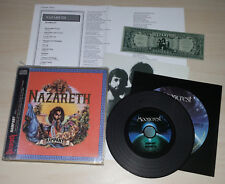 CD NAZARETH - RAMPANT - MINI LP - RUSSIA