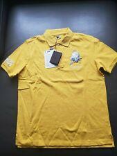 Authentic    Lamborgini  1963 sportive yellow Polo shirt size XL