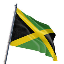 90*150cm Polyester Jamaica 3' x 5' Jamaican National Flag Banner Indoor Outdoor