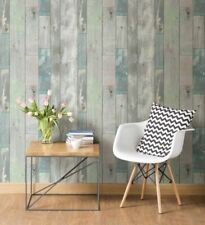 Brewster 2532-20416 Blue Grey Dean Distressed Wood Panel Planks Board Wallpaper