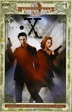 IDW X-FILES CLASSICS #1 100 Hundred Penny Press variant NM unread Scully Mulder