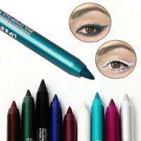 2PCS Waterproof Eyeliner Pigment Eye Liner Pencil Makeup Beauty Cosmetic