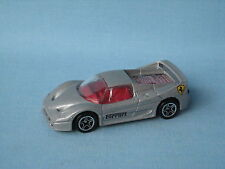 Matchbox Ferrari F50 with Silver Body 70mm Toy Model car UB