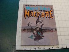 vintage HIGH GRADE magazine: WIERD TALES of the MACABRE #1, 1-75 probably unread