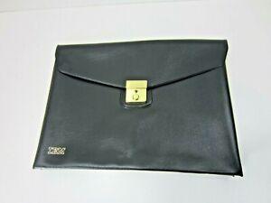 Vintage IBM Employee Document Bag Office Briefcase
