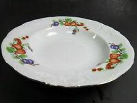 7 pcs Royal Kent Fruit Garland Rim Soup Salad Bowls Set of 2 and  5 Bread plates