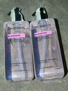 New PECKSNIFF'S Luxury Liquid Hand Wash Soap Apple Blossom 16.9oz - x 2