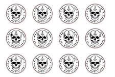Masonic Memento Mori Skull Rubber Stamp Symbol Death Life Ritual Soul Spirit Law