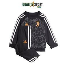 Adidas Juve 3S BBJoger Nero Bianco Arancione Tuta Ufficiale Infant FR4230 2020