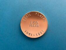 Cecil Plains Queensland 150 Years 1841 - 1991 Medallion