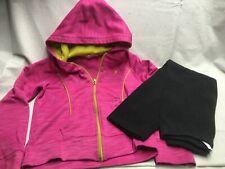 Toddler Clothes- Lot 572- Danskin Pink Jacket and Carters Black Pants - Size 6
