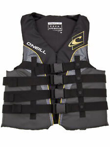 O'Neill Mens Superlite Life Vest: US Coast Guard Approved Nylon Lifejacket