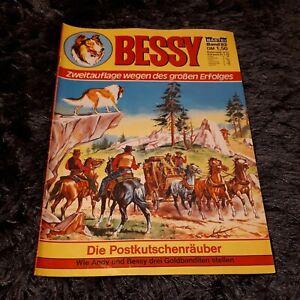 """BESSY Nr. 82 """"Die Postkutschenräuber"""", schöner BASTEI Western-Comic"""