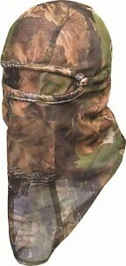 CAMOUFLAGE MESH LIGHTWEIGHT STALKING HUNTING SHOOTERS MESH BALACLAVA FACE MASK