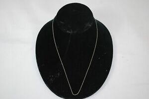 10K Karat White Gold Necklace -0.3 Grams