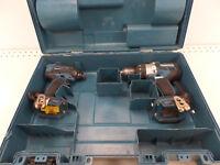 (22726) Makita 2pc Drill set