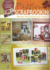 PASSION SCRAPBOOKING N°35 SCRAP EUROPEEN / SCRAP AMERICAIN / + 30 CREATIONS