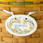Longaberger 2008 May Series Full-Size Daffodil Basket Tie-On #23587 - NEW