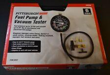 Pittsburgh Fuel Pump Vacuum Tester Automotive Tune Up Gauge Carburetor Case