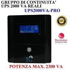 Gruppo Di Continuità 2000 VA PROTEZIONE ADSL  LCD VIDEOSORVEGLIANZA SERVER NET