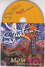 CD CARTONNE CARDSLEEVE SANTANA MARIA MARIA 2 VERSIONS DE 2000