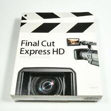 Apple Final Cut Express HD Upgrade Video Editing Software for Mac M9735Z/A
