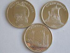 GILBERT ISLANDS 2019 3 coins Roman Gallery Chinese John Viking Draker
