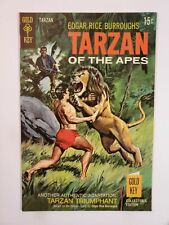 TARZAN OF THE APES #184 (VF/NM) 1969 SILVER AGE GOLD KEY COMICS! PAINTED COVER