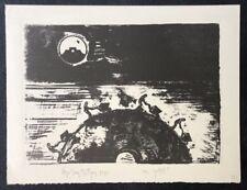Stephan Stüttgen, Wie geht's?, Lithographie, 1989, handsigniert und dat.
