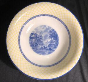 """Spode """"Giallo"""" - Cereal / Soup Bowl - 20cm - Made in England"""
