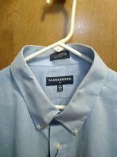 Mens light blue Saddlebred Long Sleeve Dress sz 19 34/35 NWT